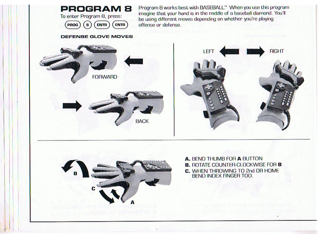 Nintendo Power Glove Manual How Do You Play It How Do You Play It