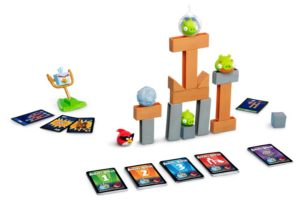 Angry Bird Space rules board game