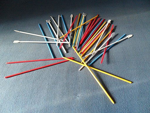 pick up sticks rules below